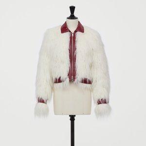 Giambattista Valli Jackets & Coats - Giambattista Valli faux fur